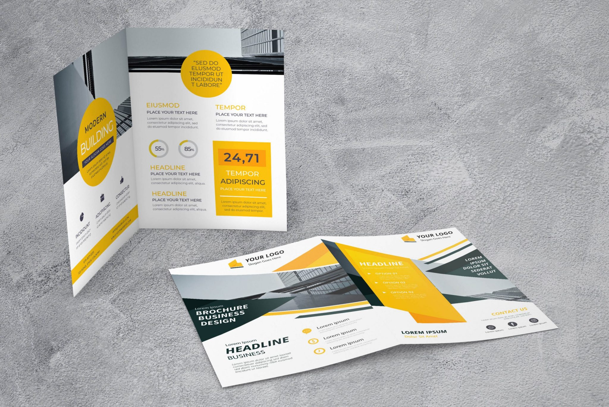 Brochures Flyers scaled