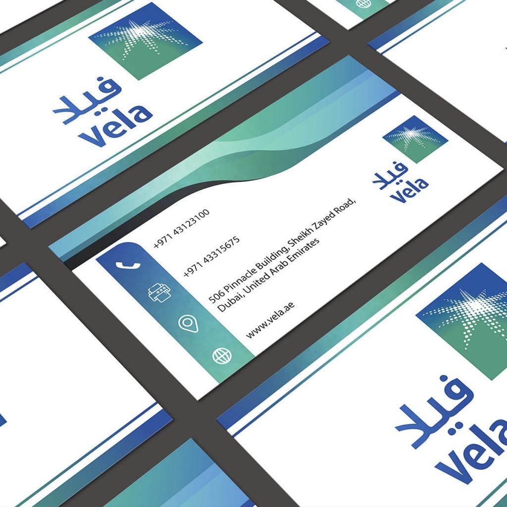 Vela Business Card